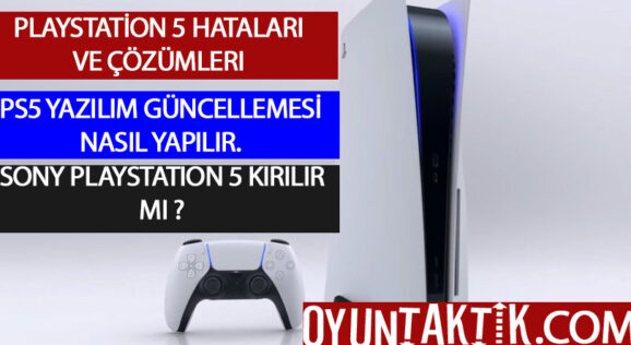 PLAYSTATİON 5 HATA KODU